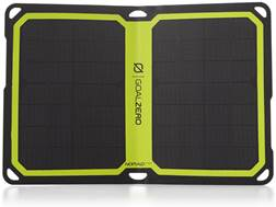 GoalZero Nomad 7 Plus Solar Panel Black