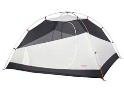 """Kelty Gunnison 4 Person Dome Tent with Footprint 99"""" x 88"""" x 55"""" Polyester Grey"""
