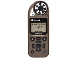 Kestrel Sportsman Hand Held Weather Meter with Applied Ballistics Coyote Brown