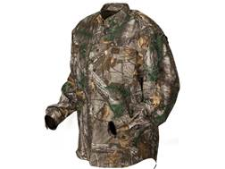 Banded Men's Midweight Vented Button-Up Shirt Long Sleeve Polyester/Ripstop Realtree Xtra Green C...