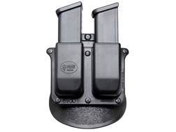 Fobus Roto Paddle Double Magazine Pouch HK, Glock 9mm Luger, 40 S&W Polymer Black