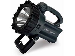 Cyclops Handheld Spotlight LED with Rechargeable Battery Polymer Black