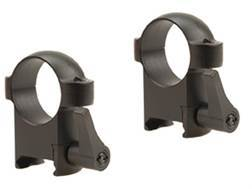"""Burris 1"""" Quick-Release Weaver-Style Rings Matte High"""