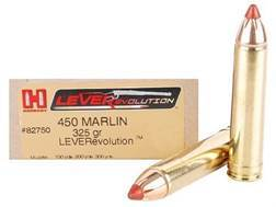 Hornady LEVERevolution Ammunition 450 Marlin 325 Grain Flex Tip eXpanding Box of 20