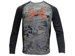 Under Armour Youth UA Fish Hunter Tech Shirt Long Sleeve Polyester