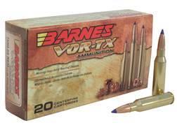 Barnes VOR-TX Ammunition 7mm-08 Remington 120 Grain Tipped Triple-Shock X Bullet Boat Tail Lead-F...