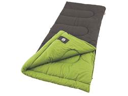 Coleman Duck Harbor 40 Degree Sleeping Bag Polyester Black