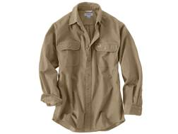 Carhartt Men's Oakman Work Shirt Long Sleeve Cotton Cottonwood XL