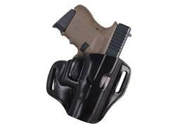 Bianchi 57 Remedy Outside the Waistband Holster Right Hand Glock 26, 27, 33 Leather