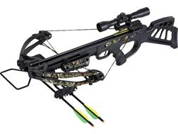 SA Sports Empire Dragon Crossbow Package with 4x32 Multi-Range Scope Black and NEXT G2 Camo