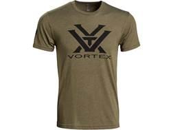 Vortex Optics Men's Logo T-Shirt Short Sleeve Poly/Cotton/Rayon OD Green