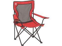 Coleman Broadband Mesh Quad Camp Chair Orange
