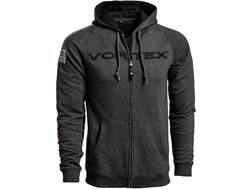 Vortex Optics Men's Logo Full Zip Hoodie Cotton/Polyester Heather Grey