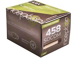 Polycase Inceptor Preferred Hunting Ammuntion 458 SOCOM 140 Grain Frangible ARX Lead-Free Box of 20