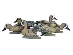 Duck Commander Foam Filled Blue Wing Teal Duck Decoy Pack of 6