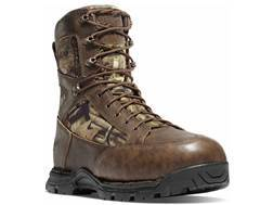 "Danner Pronghorn 8"" Waterproof 800 Gram Insulated Hunting Boots Leather/Nylon Mossy Oak Break-Up ..."