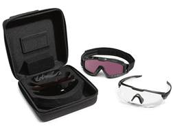 Oakley SI Ballistic M-Frame Alpha Operator Kit Matte Black Frame/Clear, Gray, Prizm TR22 and Priz...