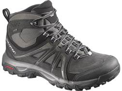 "Salomon Evasion Mid GTX 5"" Waterproof GORE-TEX Hiking Boots Leather/Nylon Brown Men's"