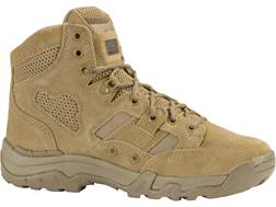 "5.11 Taclite 6"" Uninsulated Tactical Boots Leather and Nylon Coyote Men's"