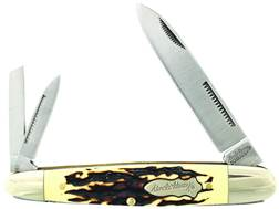 Uncle Henry Cigar Whittler Folding Pocket Knife Spear, Coping and Pen 7Cr17MoV High Carbon Stainl...