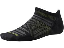 Smartwool Men's PhD Outdoor Ultra Light Micro Socks Merino Wool/Nylon Black Medium 1 Pair