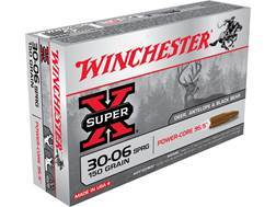 Winchester Super-X Power-Core 95/5 Ammunition 30-06 Springfield 150 Grain Hollow Point Boat Tail ...