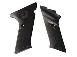 Vintage Gun Grips Colt Woodsman Late Model 22 Long Rifle with Thumbrest Polymer Black