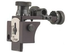Lyman Receiver Sight with Target Knobs 57SMET Mauser and Springfield Aluminum Blue