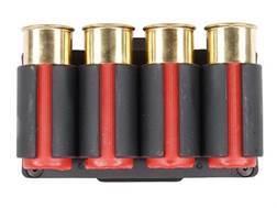 TacStar SideSaddle Shotshell Ammunition Carrier 12 Gauge 4-Round Benelli Nova Black