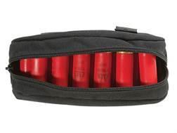 Tuff Products Accessory Bag Five 12 Gauge Strip Pouch Nylon Black