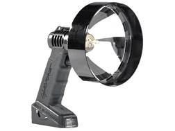 Lightforce Enforcer 140 Halogen Handheld Spotlight 12V Plug-In and Alligator Clip Polymer Black