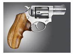 Hogue Fancy Hardwood Grips with Top Finger Groove Ruger SP101