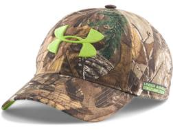 Under Armour Youth UA Scent Control Cap Polyester Realtree Xtra Camo