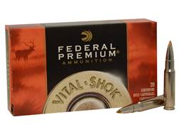 Federal Premium Vital-Shok Ammunition 338 Federal 200 Grain Trophy Bonded Tip Box of 20