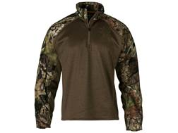 Browning Men's Hell's Canyon Bellum Scent Control 1/4 Zip Shirt Long Sleeve Polyester Mossy Oak B...