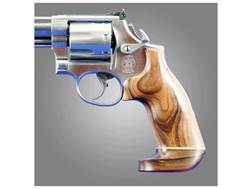Hogue Fancy Hardwood Grips with Accent Stripe Dan Wesson Small Frame Oversize