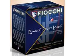 "Fiocchi Exacta Target Crusher Ammunition 12 Gauge 2-3/4"" 1 oz #8 Shot"