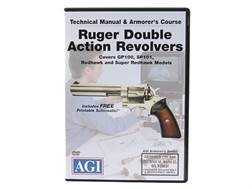 "American Gunsmithing Institute (AGI) Technical Manual & Armorer's Course Video ""Ruger Double Acti..."