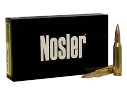 Nosler E-Tip Ammunition 7mm-08 Remington 140 Grain E-Tip Lead-Free Box of 20