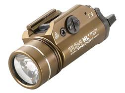 Streamlight TLR-1 HL Weapon Light LED with 2 CR123A Batteries Fits Picatinny or Glock-Style Rails...