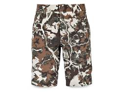 First Lite Men's Corrugate Guide Shorts Synthetic Blend Fusion Camo Medium