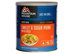 Mountain House 10 Serving Sweet & Sour Pork with Rice Freeze Dried Food #10 Can