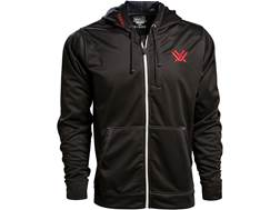 Vortex Optics Men's Performance Logo Full Zip Hoodie Polyester Black