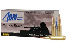 ABM Mission Ready-Tactical Ammunition 260 Remington 130 Grain Berger Match AR Hybrid OTM Tactical...