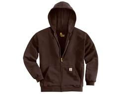 Carhartt Men's Midweight Zip-Front Hooded Sweatshirt Cotton/Polyester