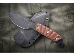 """TOPS Knives Shadow Rider Fixed Blade Knife 3.25"""" Drop Point 1095 High Carbon Alloy Blade Canvas M..."""