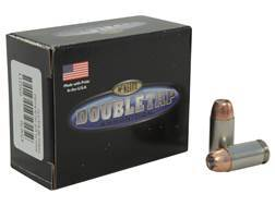 DoubleTap Ammunition 45 ACP 185 Grain Bonded Defense Jacketed Hollow Point Box of 20