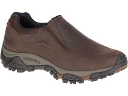 """Merrell Moab Adventure Moc Low 4"""" Hiking Shoes Leather/Synthetic"""