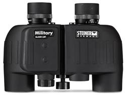 Steiner Military Laser Rangefinding Binocular 8x 30mm Porro Prism with SUMR Targeting Reticle Matte