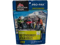 Mountain House Pro-Pak Vacuum-Sealed Beef Stroganoff Freeze Dried Food 4.06 oz